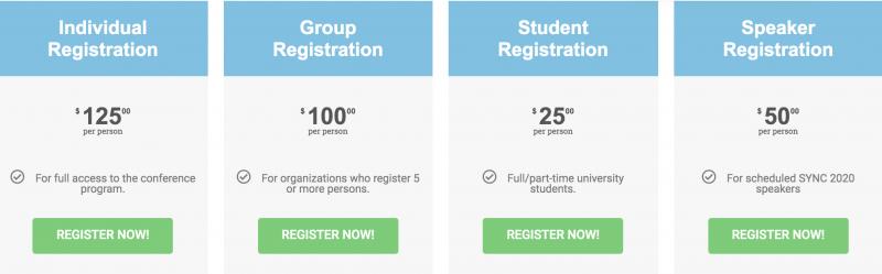SYNC 2020 Registration Rates CVENT2
